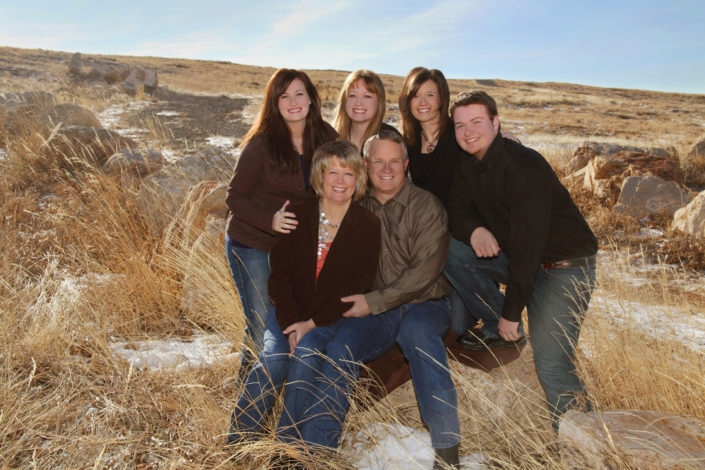 laramie family portrait photgraphy