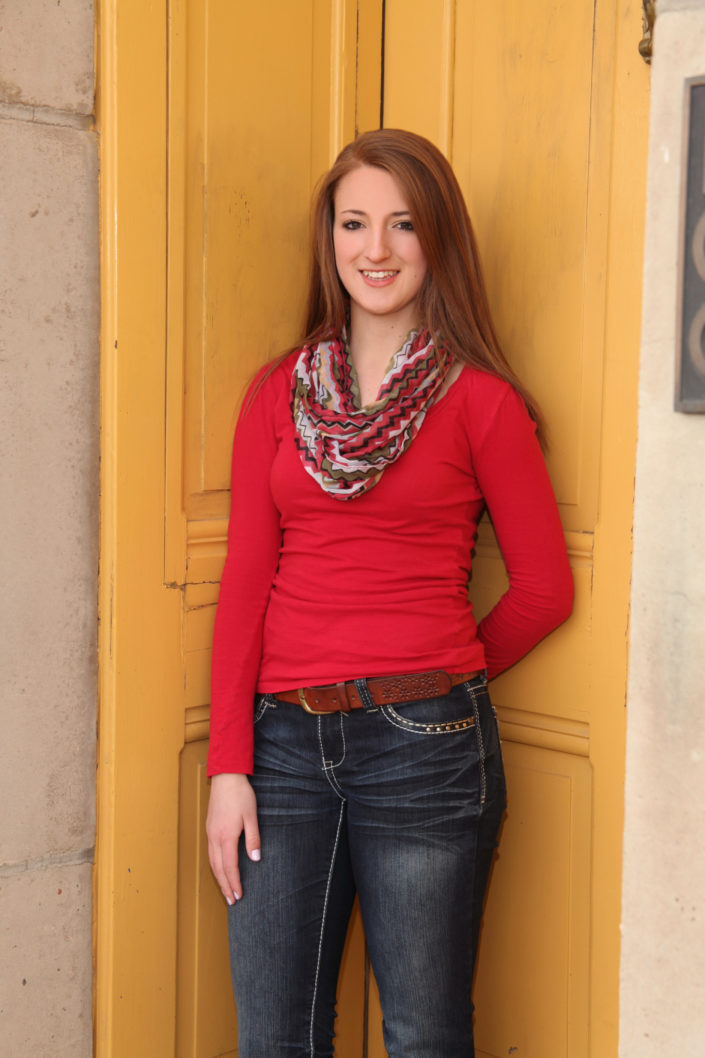 Laramie senior portrait photography