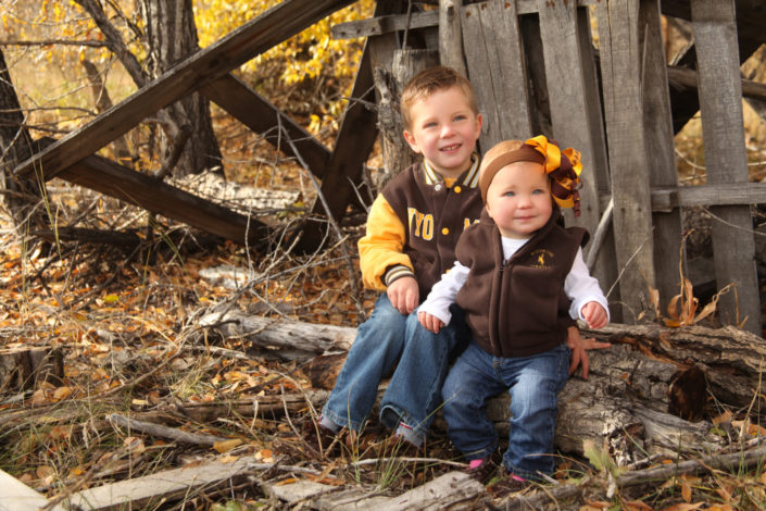 Laramie family portrait photography